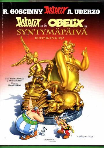 Asterix 34 - Asterixin ja Obelixin syntymäpäivä: Kultainen kirja