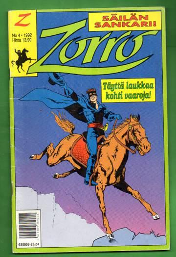 Zorro 4/92