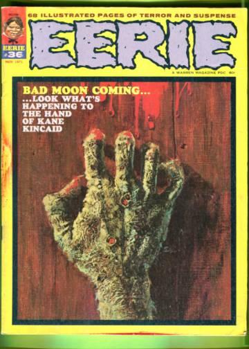 Eerie #36 Nov 71