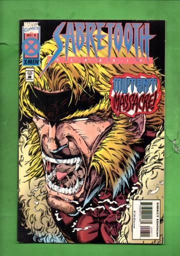 Sabretooth Classic Vol. 1 #8 Dec 94