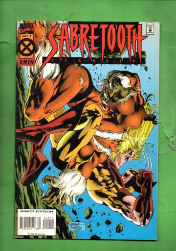 Sabretooth Classic Vol. 1 #9 Jan 95