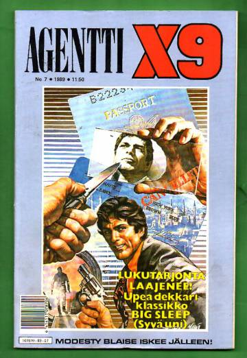 Agentti X9 7/89
