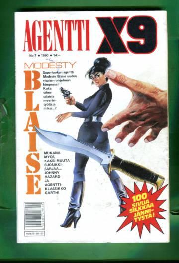 Agentti X9 7/90 (Modesty Blaise)