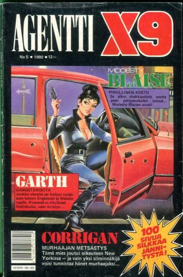 Agentti X9 5/90 (Modesty Blaise)