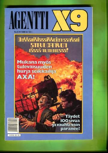 Agentti X9 8/89