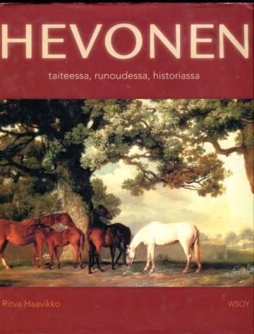 Hevonen taiteessa, runoudessa, historiassa