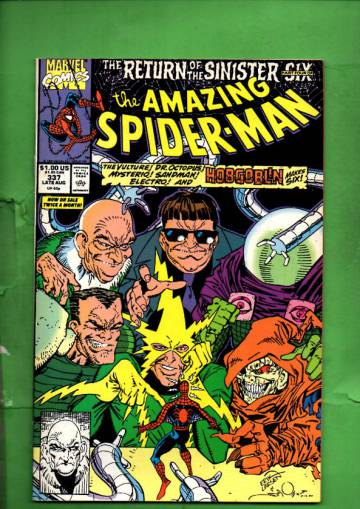 The Amazing Spider-man Vol 1 #337 Late Aug 90