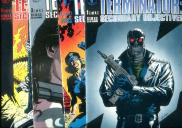 The Terminator - Secondary Objectives #1-4, July-October 1991 (whole mini-series)