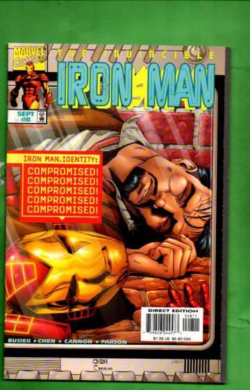Iron Man Vol. 3 #8 Sep 98