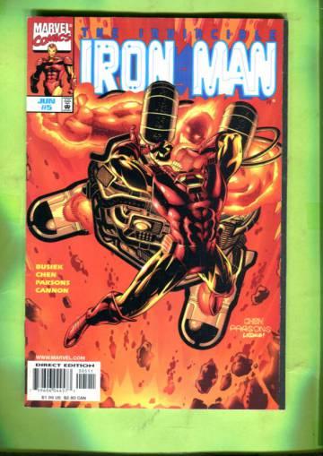 Iron Man Vol. 3 #5  Jun 98