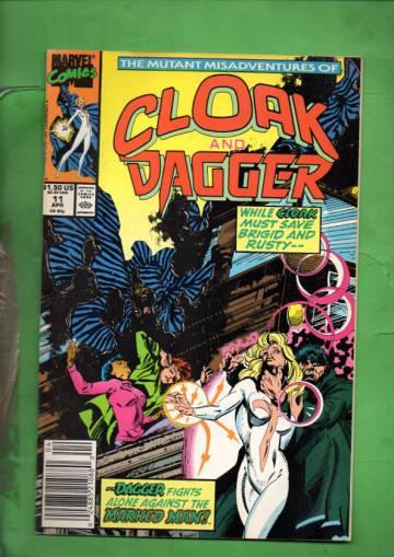 The Mutant Misadventures of Cloak and Dagger Vol. 1 #11 Apr 90
