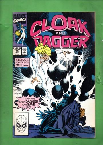 Cloak and Dagger Vol. 1 #15 Nov 90