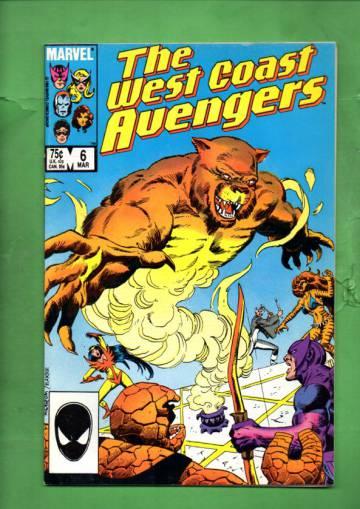 West Coast Avengers Vol. 2 #6 Mar 86