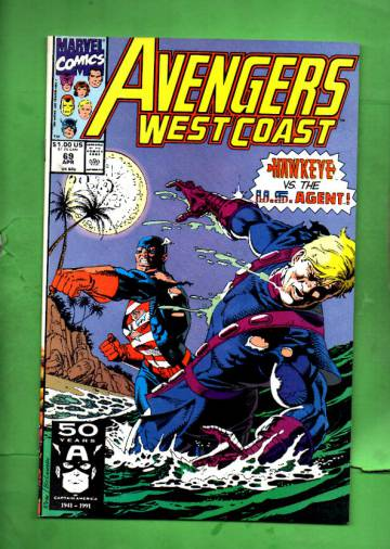Avengers West Coast Vol. 2 #69 Apr 91