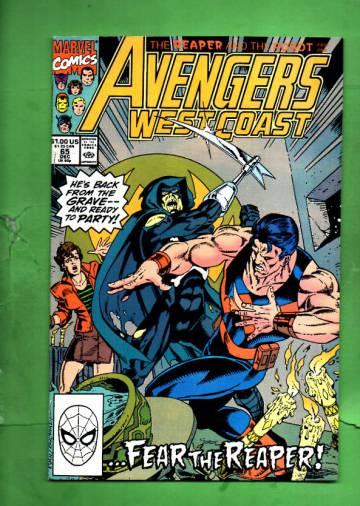 Avengers West Coast Vol. 2 #65 Dec 90