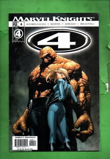 Marvel Knights 4 #6 Jul 04