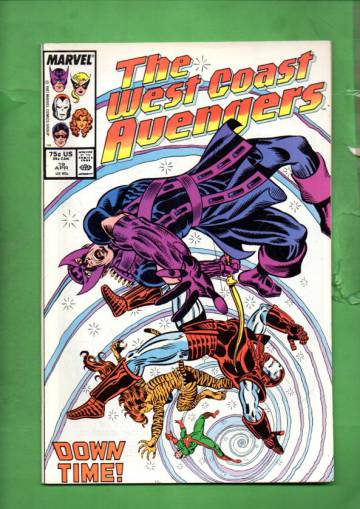 West Coast Avengers Vol. 2 #19 Apr 87