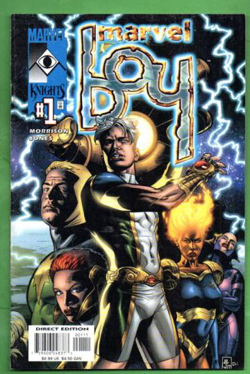 Marvel Boy 1 / August 2000