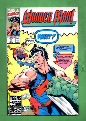 Wonder Man Vol. 1 #3 Nov 91