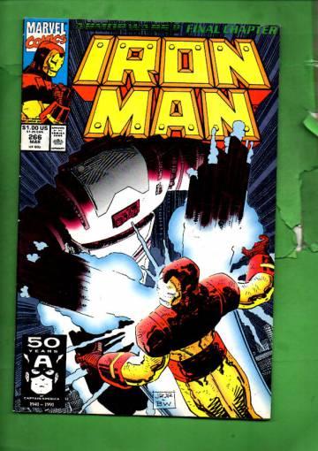 Iron Man Vol. 1 #266 Mar 91