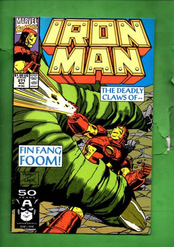 Iron Man Vol. 1 #271 Aug 91