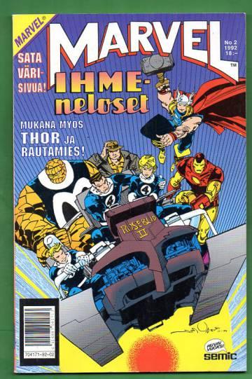 Marvel 2/92 - Ihmeneloset