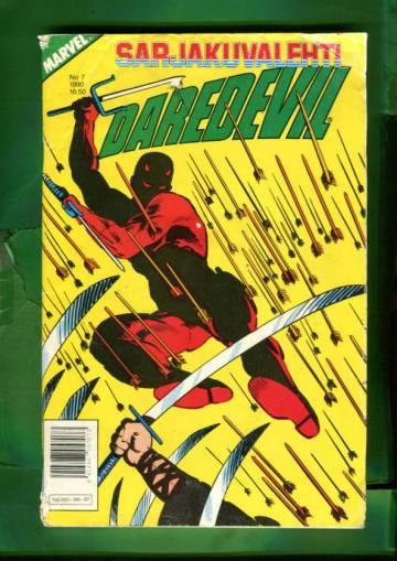 Sarjakuvalehti 7/90 - Daredevil + Marvel Saga 7