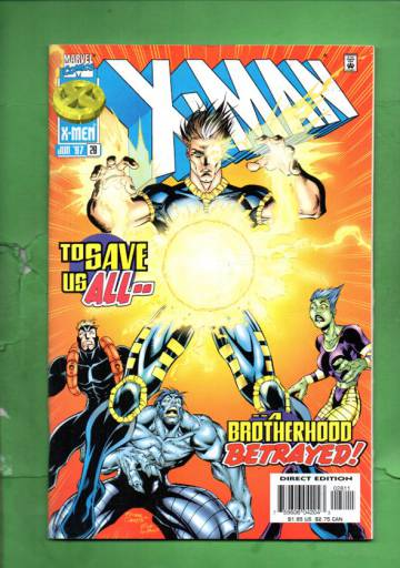 X-Man Vol. 1 #28 Jun 97