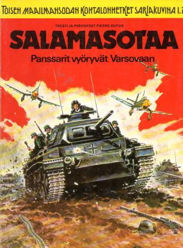 Toisen maailmansodan kohtalonhetket sarjakuvina 1 (1/77) - Salamasotaa: Panssarit vyöryvät Varsovaan