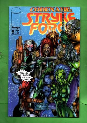 Codename: Stryke Force Vol 1 #8 Nov  94