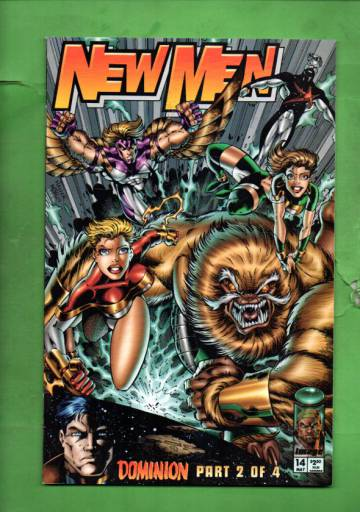 Newmen Vol. 1 #14 Jun 95