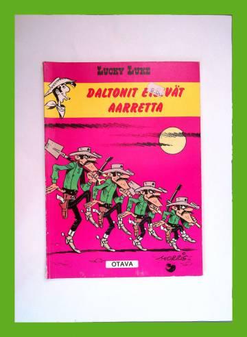 Lucky Luke 40 - Daltonit etsivät aarretta (1.painos)