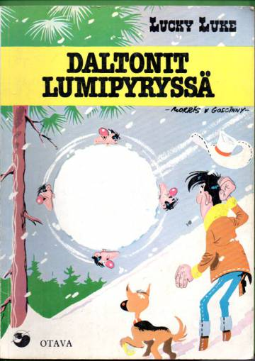 Lucky Luke 24 - Daltonit lumipyryssä (1. painos)