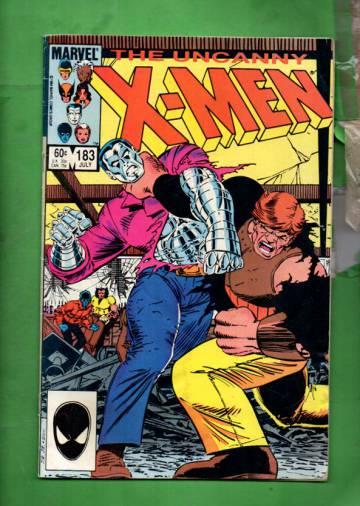 The Uncanny X-Men Vol 1 #183 Jul 84