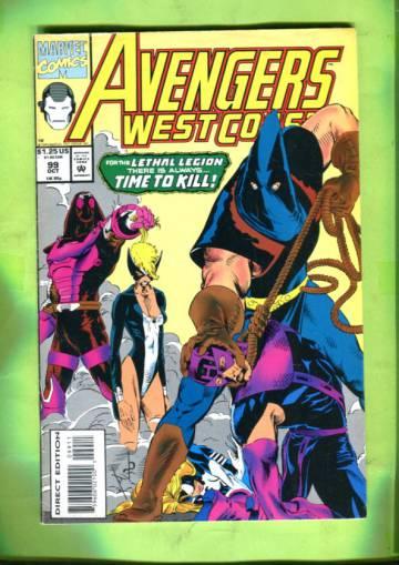 Avengers West Coast Vol. 2 #99 Oct 93