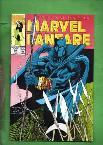 Marvel Fanfare Vol. 1 #60 Dec 91