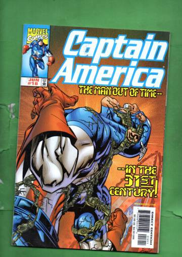 Captain America Vol. 3 #18 Jun 99