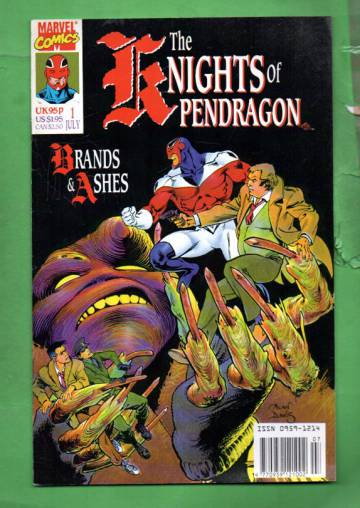 The Knights of Pendragon #1 Jul 90
