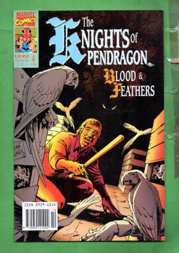 The Knights of Pendragon #4 Oct 90