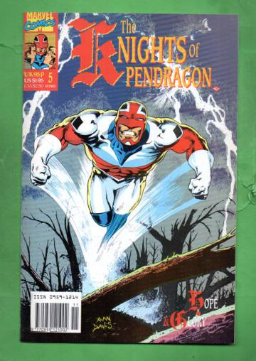 The Knights of Pendragon #5 Nov 90