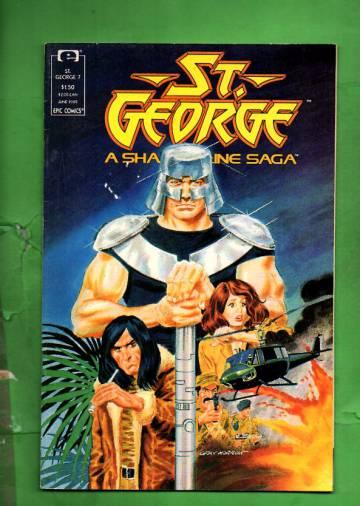 St. George Vol. 1 #7 Jun 89