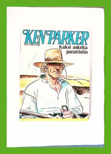 Ken Parker 3/87 - Kaksi askelta paratiisiin