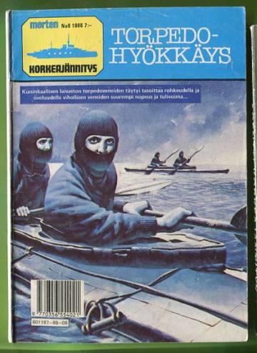 Merten korkeajännitys 8/88 - Torpedohyökkäys