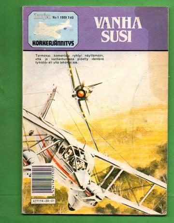 Ilmojen korkeajännitys 1/89 - Vanha susi
