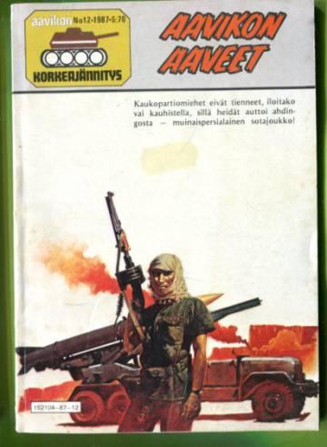 Aavikon Korkeajännitys 12/87 - Aavikon aaveet