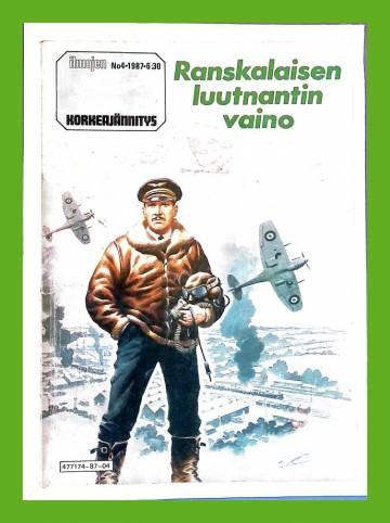 Ilmojen Korkeajännitys 4/87 - Ranskalaisen luutnantin vaino