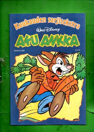 Aku Ankka - Kuukauden sarjisekstra 24: Huhtikuu 2001