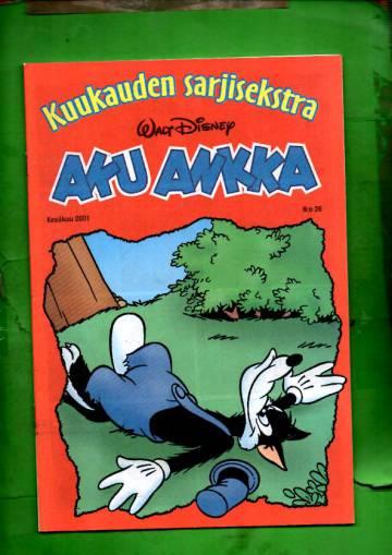 Aku Ankka - Kuukauden sarjisekstra 26: Kesäkuu 2001