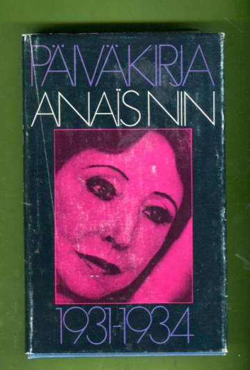 Päiväkirja 1931-1934