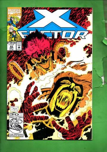 X-Factor Vol 1 #82 Sep 92